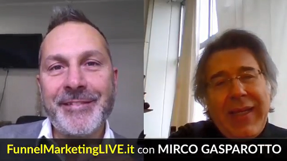 Speaker al Funnel Marketing Live 2018: Mirco Gasparotto