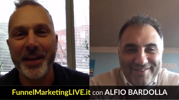 Speaker al Funnel Marketing Live 2018: Alfio Bardolla