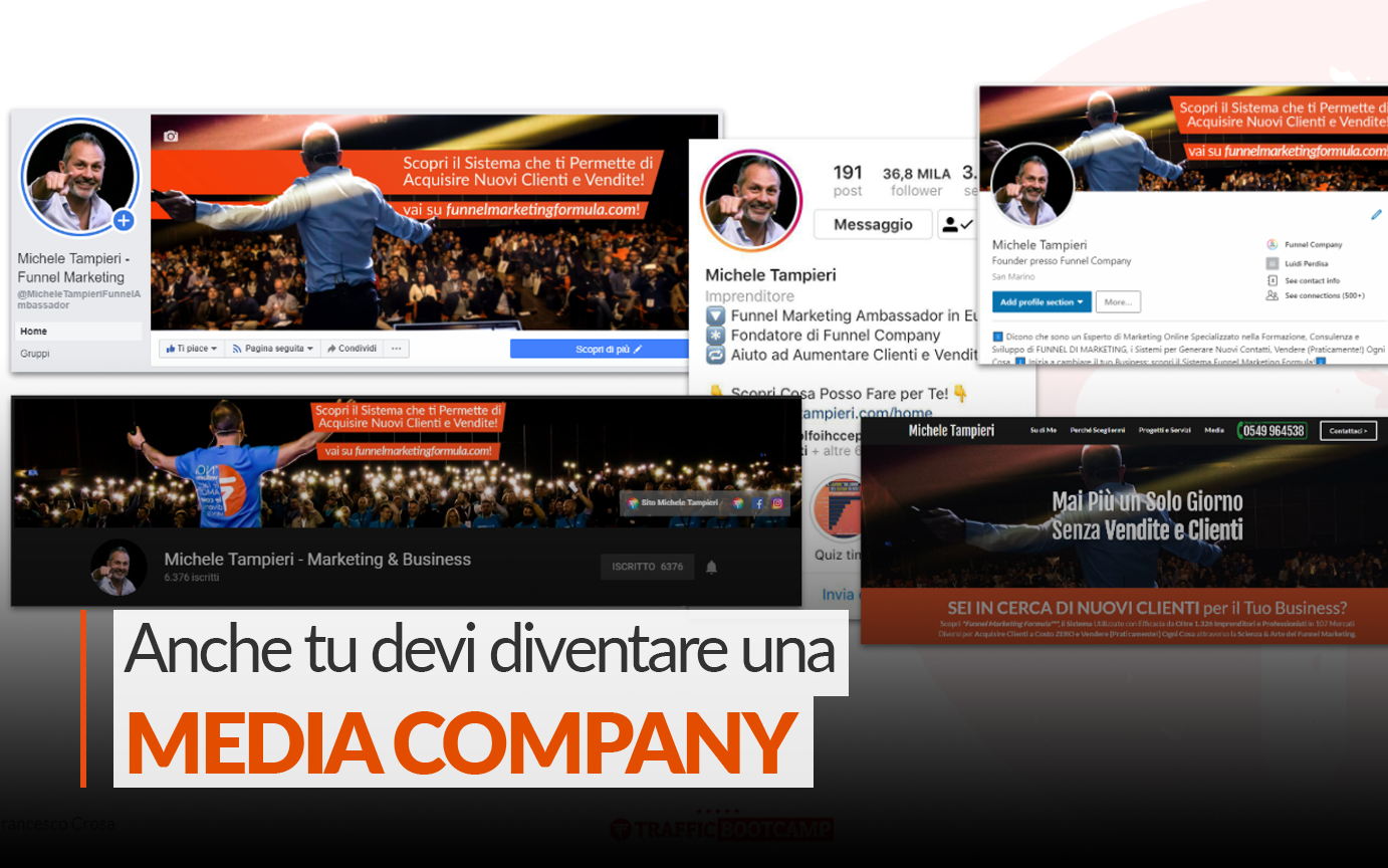 Comunicazione di Marketing Efficace: Anche tu Devi Diventare una Media Company