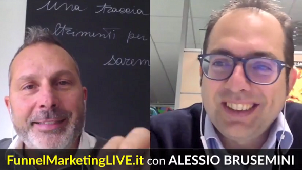 Speaker al Funnel Marketing Live 2018 Alessio Brusemini