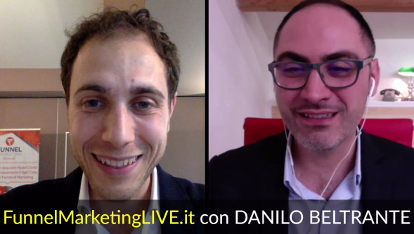 Speaker al Funnel Marketing Live 2018: Danilo Beltrante